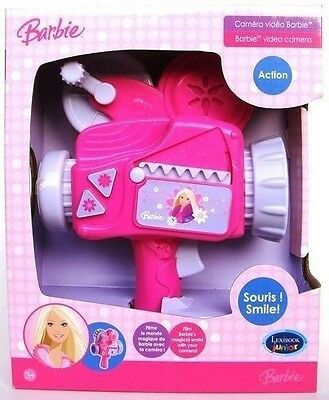 Barbie IT209BB Video Camera Girls Roleplay Toy Gift Set