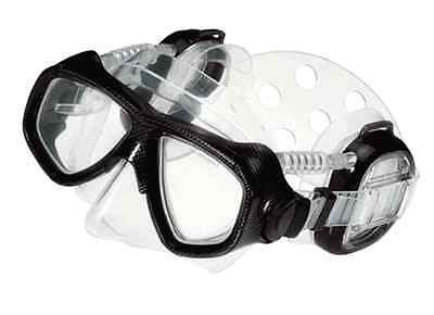 Pro Ear 'Black' Colour Dry Mask 2000 Protector for Scuba Diving and Snorkelling