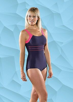 101264 SPORTS DEAL Maru Ella Pacer Ladies Swimsuit Berry