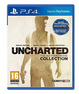 Uncharted: The Nathan Drake Collection (PS4) [NEW GAME]