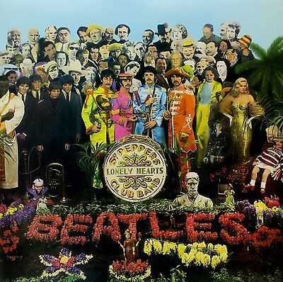 THE BEATLES - SGT PEPPER'S LONELY HEARTS CLUB BAND in STEREO 180GRAM VINYL LP