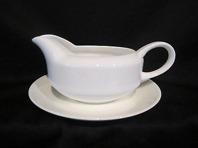 Wedgwood INSPIRATION or FORMAL WHITE - Gravy Boat & Stand