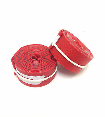 New FSA 700c x 17mm Rim Strips Red Nylon Box//10