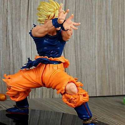 Son Goku Gokou PVC Figure Super Saiyan DragonBall Z Statue Figurine Collection