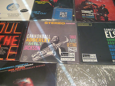 Cannonball Adderley Limited Edition Collection Of 8 Titles With 11 Vinyl Lp + Cd