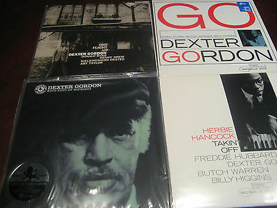Dexter Gordon Audiophile Limited Edition Numbered 180 Gram 33 1/3 Vinyl Set + Go