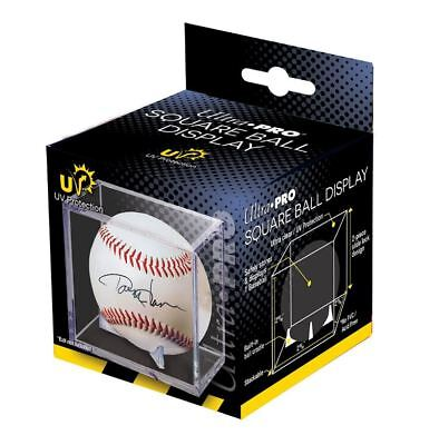 Ultra Pro Square Baseball Display Case with UV Protection and Built In Cradle