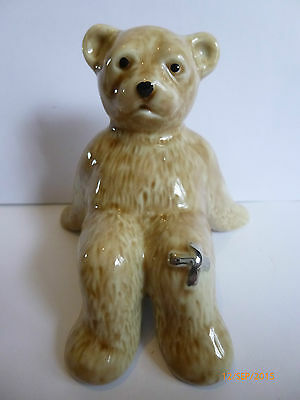 Wade Ultra Rare Oops The Bear Colour Variation Silver Plaster