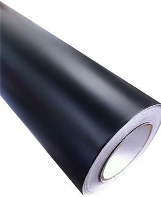 Matt Vinyl Car Wrap Black (Air/Bubble Free) 1520mm x 400mm