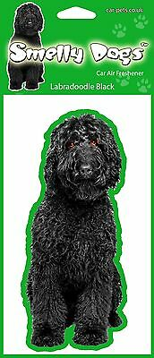 Labradoodle Black Fragrant Air Freshener - Perfect Gift