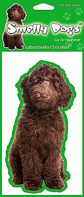 Labradoodle Chocolate Fragrant Air Freshener - Perfect Gift