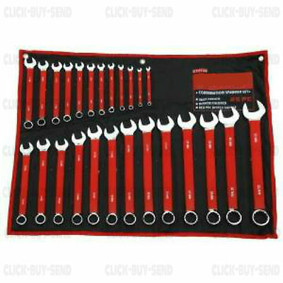 25 Piece Set Soft Grip Combination Metric Spanner Spanners 6Mm - 32Mm New