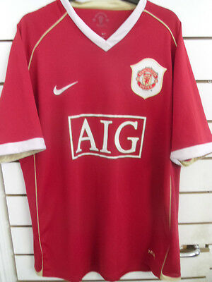 Manchester United Official Nike Home Shirt  2006-07 Size Large Adult
