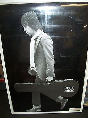Jeff Beck Profile Poster New  !