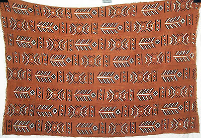 New Handmade African Mud Cloth Bogolan Bogolanfini r605
