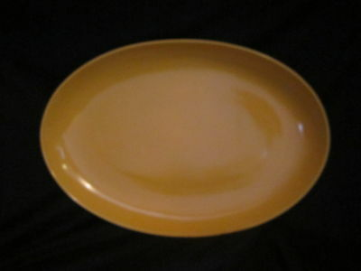 Lindt Stymeist - RSO BRIGHTS YELLOW - Oval Platter - BRAND NEW