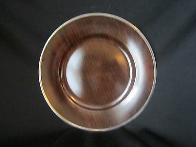 Marc Blackwell - MAHOGANY - Accent Salad Plate - BRAND NEW