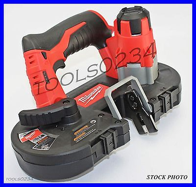 New Milwaukee 2429-20 M12 Sub-Compact Cordless Band Saw Tool Only Free Shipping
