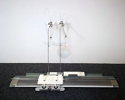 SA7P SINGER/SILVER REED Fine Gauge 312Needles Punch card Knitting Machine