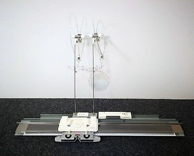 SINGER / SILVER REED Fine Gauge Punch card Knitting Machine Model :SA7P
