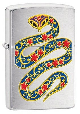 Personalised Year of the Snake Zippo Lighter Engraved Gift