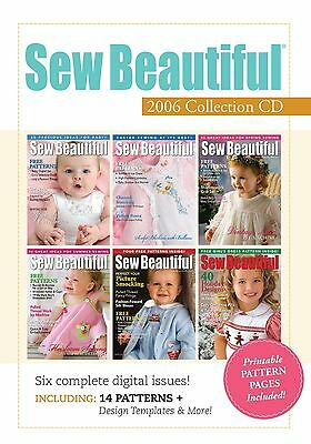 Sew Beautiful Magazine 2006 Collection [CD]
