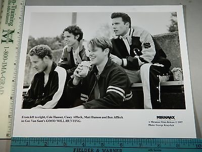 Rare Orig VTG 1997 Ben Affleck Good Will Hunting George Kraychyk Movie Photo