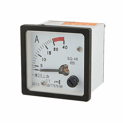 Analogue 0-20A AC Current Panel Meter Amperemeter SQ48