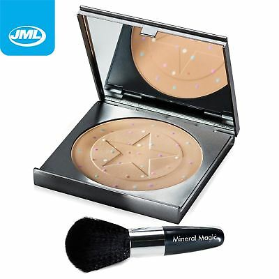 JML Mineral Magic Foundation Concealer Colour Corrector Powder Make Up + Brush