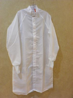 WORKLON WHITE CLEAN ROOM LAB COAT SIZE Small Great for Halloween _________ R2B