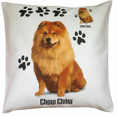 Chow Chow Paws Breed of Dog Cotton Cushion Cover - Perfect Gift