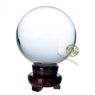 "150mm 5.9"" Asian Rare Natural Quartz Clear Magic Crystal Healing Ball Sphere"