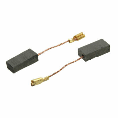 10 Pcs 15 x 8 x 5mm Motor Carbon Brushes for Electric Angle Grinder