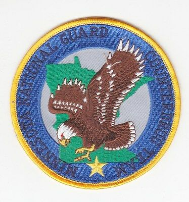 Army Patch:  Minnesota National Guard Counterdrug Team
