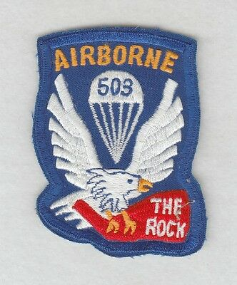 Army Patch:  503rd Airborne Infantry Regiment  - COPY