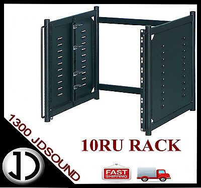 "Soundking DF137 10RU 19"" metal studio desktop rack equipment stand"