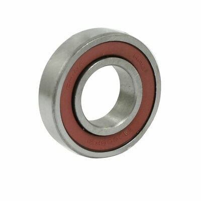 30mm x 62mm x 16mm Dual Rubber Sealed Deep Groove Ball Bearings