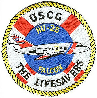 HU-25 Falcon Lifesavers W4703 USCG Coast Guard patch