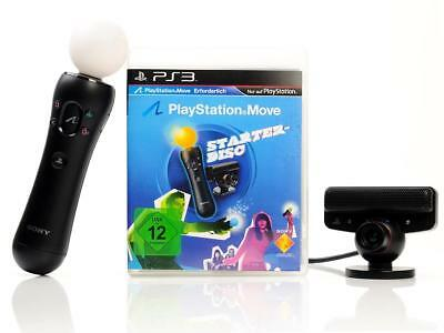PS3 Spiel MOVE STARTER-PACK-DISC-inkl Move-Motion Controller & Eye-Cam DEUTSCH B
