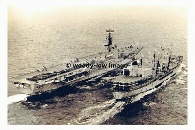 rp5492 - Royal Navy Aircraft Carrier - HMS Albion & RFA Tidespring - photo 6x4