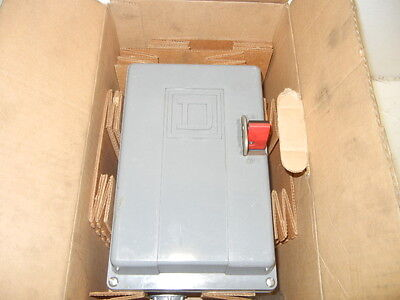 Square D 2510Mcw3 Series A New Ac Manual Starter 2510Mcw3
