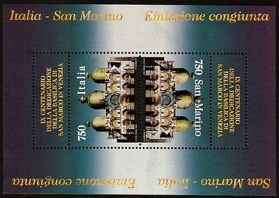 SAN MARINO MNH 1994 Cultural Heritage in Italy