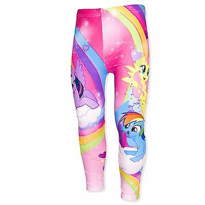 Official Hasbro My Little Pony Girls Leggings Trousers Bottoms 2-8 YRS NEW 2017