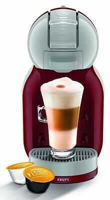 NEW NESCAFE KP120540 Dolce Gusto Mini Me Automatic Coffee Machine - Red