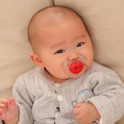Infant Teether Baby Pacifier Pig Nose Shape Infant Nipple Dummy Baby Soother  SU