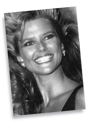 CHRISTIE BRINKLEY - Original Art ACEO Card #03