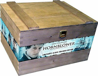 DVD-Holzbox *Hornblower-Special Edition - Die komplette Serie *NEU (8 Discs) OVP