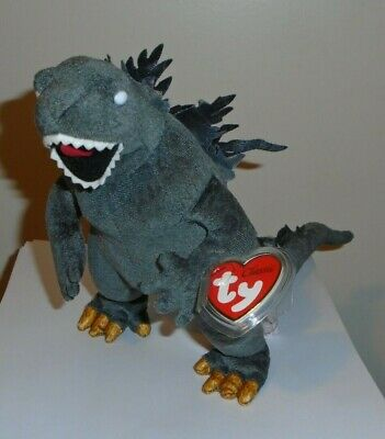 Ty Classic ~ GODZILLA ~ Japan Exclusive~ Plush ~ MINT with MINT TAGS ~ RETIRED