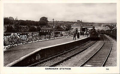 Cardigan Railway Station # 116 by Squibbs, Cardigan.