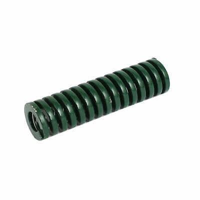 16mm OD 60mm Long Heavy Load Coil Stamping Compression Mold Die Spring Green
